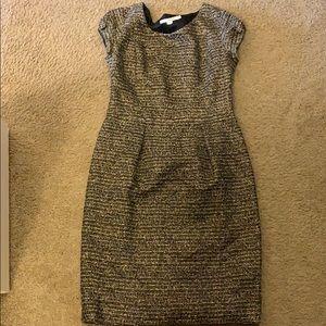 Grayish gold dress